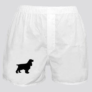 Cocker Spaniel Black Boxer Shorts