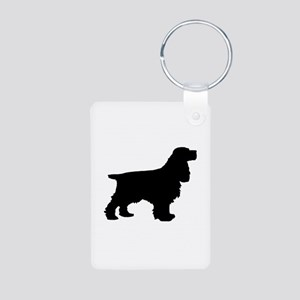 Cocker Spaniel Black Keychains
