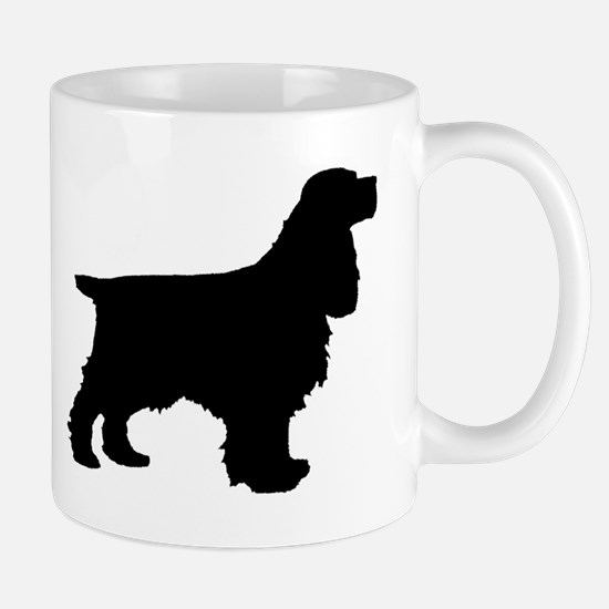 Cocker Spaniel Black Mug
