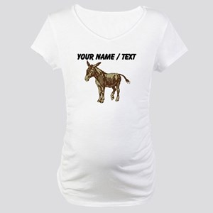 Custom Donkey Maternity T-Shirt