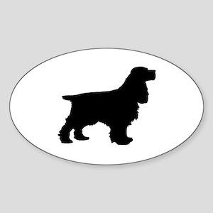 Cocker Spaniel Black Sticker