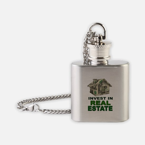 REAL ESTATE Flask Necklace