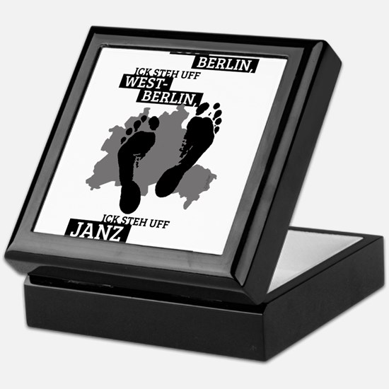 Ick steh uff janz Berlin! Keepsake Box