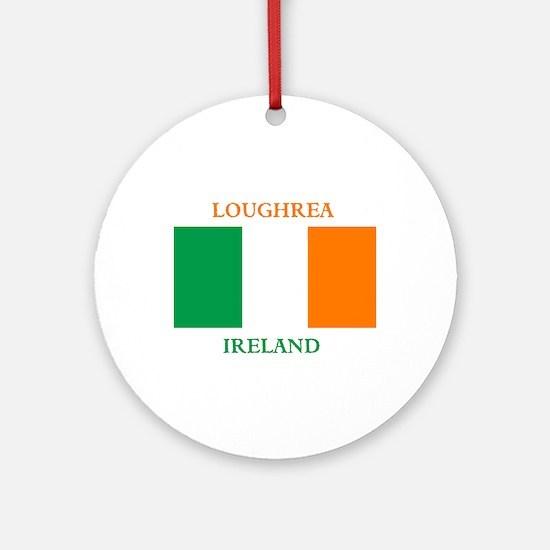 Loughrea Ireland Ornament (Round)