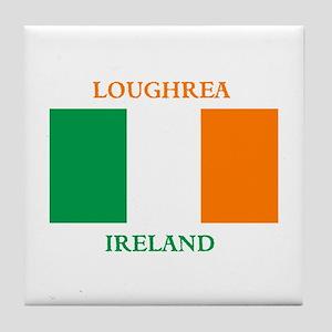 Loughrea Ireland Tile Coaster