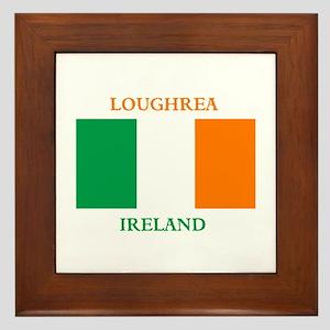 Loughrea Ireland Framed Tile