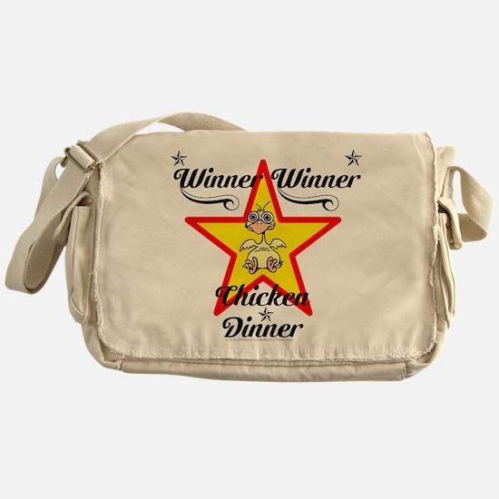 Winner winner Chicken dinner design Messenger Bag
