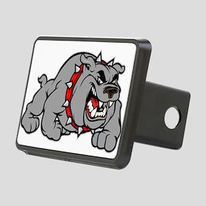 grey bulldog Hitch Cover