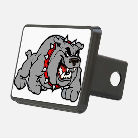 grey bulldog Hitch Cover
