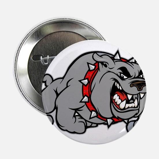 """grey bulldog 2.25"""" Button"""