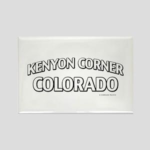 Kenyon Corner Colorado Rectangle Magnet