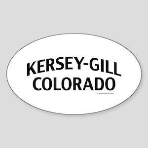 Kersey-Gill Colorado Sticker