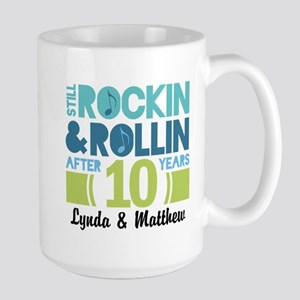 10th Anniversary Funny Personalized Gift Mugs