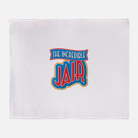 The Incredible Jair Throw Blanket