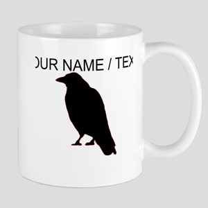 Custom Crow Silhouette Mug