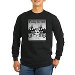 Friday The 13th - Flames Long Sleeve Dark T-Shirt