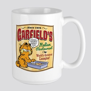 Garfield's Italian Restaurant Large Mug