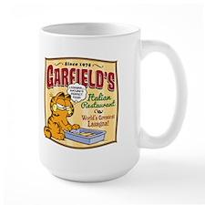 Garfield's Italian Restaurant Large Mug