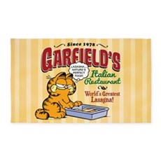 Garfield's Italian Restaurant 3'x5' Area Rug