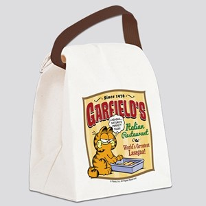 Garfield's Italian Restaurant Canvas Lunch Bag