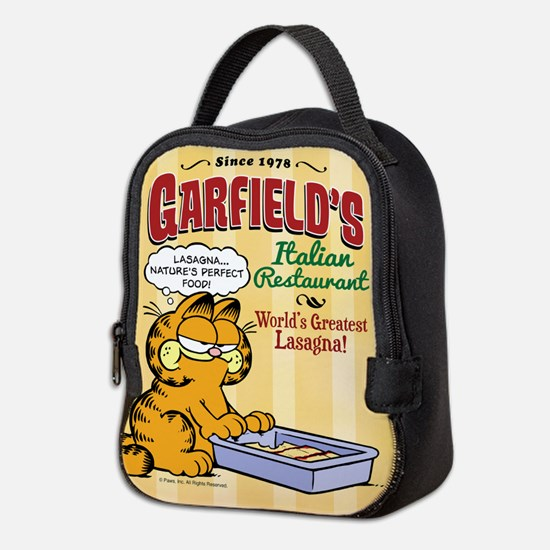 Garfield's Italian Restaurant Neoprene Lunch Bag
