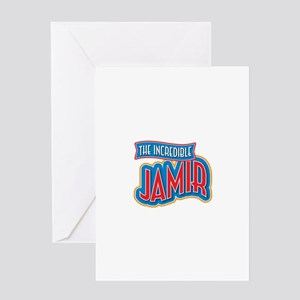 The Incredible Jamir Greeting Card