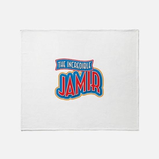 The Incredible Jamir Throw Blanket