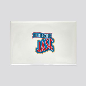 The Incredible Jase Rectangle Magnet