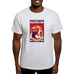 Obey the Australian Shepherd! Ash Grey T-Shirt