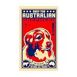 Obey the Australian Shepherd! Sticker