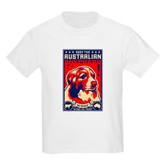 Obey the Australian Shepherd! Kids T-Shirt