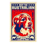 Australian Shepherd! Postcards -(8 Pack)