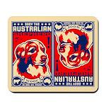 Obey the Australian Shepherd! Mousepad