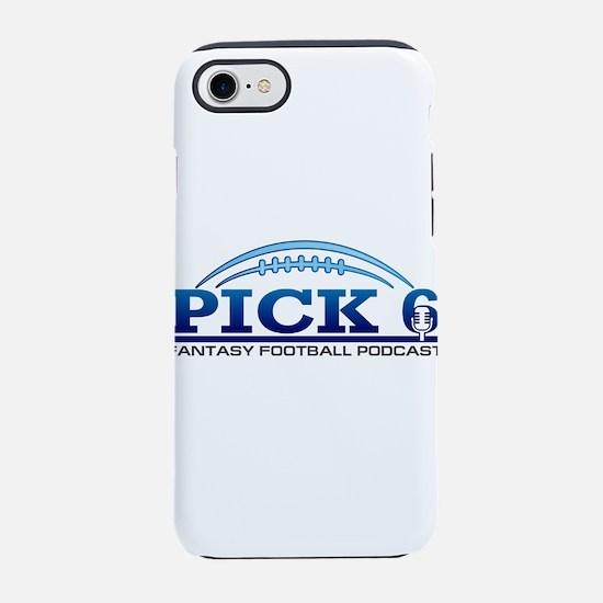Pick 6 Fantasy Football Podcast iPhone 7 Tough Cas