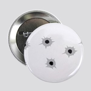 "Bullet Holes 2.25"" Button"