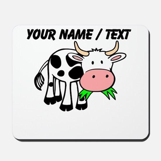 Custom Cartoon Cow Mousepad