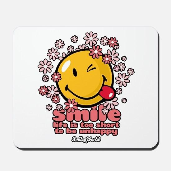 smile floral Mousepad