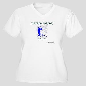 Club Seal Plus Size T-Shirt