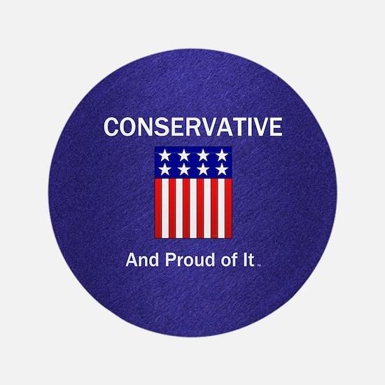 Conservative Slogan Button