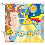 Creation Myth Shower Curtain