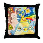 Creation Myth Throw Pillow