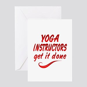 Yoga Instructors Greeting Card