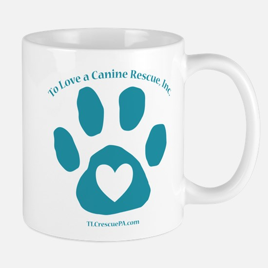 To Love a Canine Rescue, Inc. logo Mug