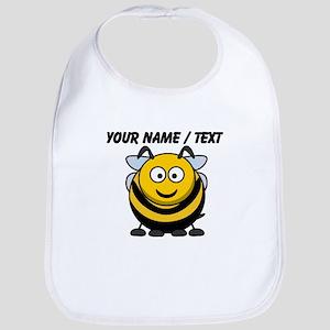 Custom Cartoon Bumble Bee Bib