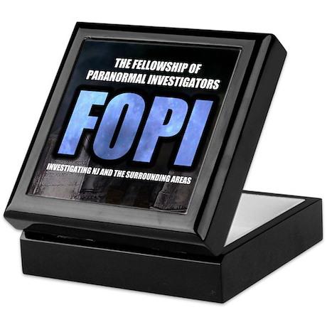 FOPI Official Logo Keepsake Box