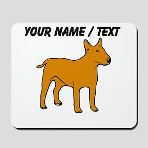 Custom English Bull Terrier Mousepad