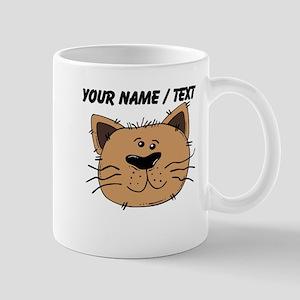 Custom Brown Cat Mug
