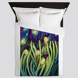 Fireflies Queen Duvet