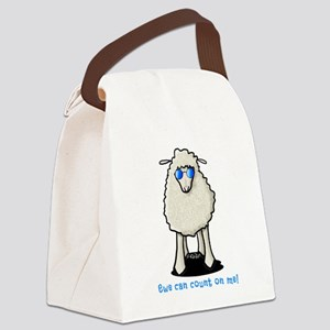 Count On Me Canvas Lunch Bag