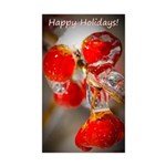 Viburnum Berries Covered Sticker (Rectangle 50 pk)